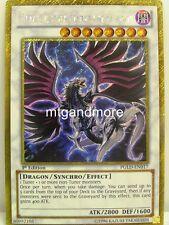 YU-GI-OH - 1x Blackfeather Darkrage Dragon-GIOCABILE-Premium serie oro