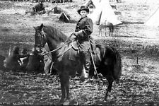 New 5x7 Civil War Photo: Union - Federal General Ulysses S. Grant on Horse