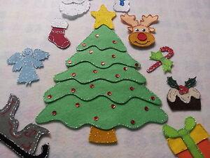 FELT BOARD STORY TEACHER RESOURCE - CHRISTMAS TREE, XMAS TREE WHAT DO YOU SEE?