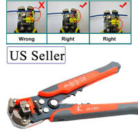 Self Adjustable Wire Cutter Pliers  Nippers Cable Crimper Striper Terminal Tool