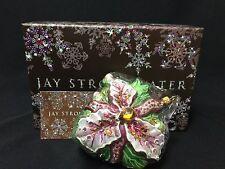 NWT/NIB Jay Strongwater Flora Orchid  Swarovski Crystals Ornament FS