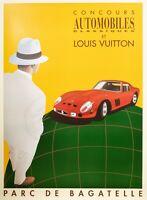 Original Poster - Razzia - Louis Vuitton Classique - Ferrari - 1995