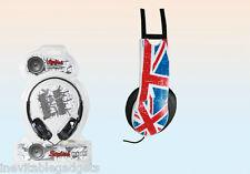 Union Jack Casque Stéréo Drapeau Britannique Drapeau UK Casque