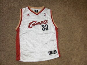 Cleveland Cavaliers SHAQUILLE O'NEAL white basketball jersey youth Large adidas