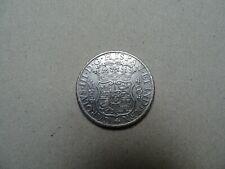 8 Reales argent 1770 Carlos III Mexico hispan.et ind.rex colonial money history
