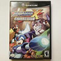 Mega Man X Collection Nintendo GameCube Complete CIB Clean