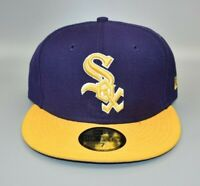 Chicago White Sox New Era 59FIFTY MLB 2-Tone Fitted Cap Hat - Size: 7