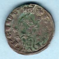 Cyprus - Order of Malta. Crusades.. Henry 11 (1285-1324) Silver Gros.. VF