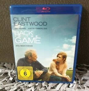 Back In The Game Blu-Ray - Clint Eastwood - Justin Timberlake - Amy Adams - NEW