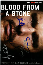 BLOOD FROM A STONE Signed Autographed CAST Playbill ETHAN HAWKE GORDON CLAPP + 4