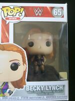 FUNKO POP ! -WWE - BECKY LYNCH -  VINYL FIGURE #65