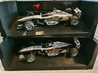 1:18 F1 2001 MIKA.H + DAVID.C McLAREN MERCEDES WEST EDITION MINICHAMPS