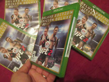 EA Sports UFC 2 -- Deluxe Edition XBOX ONE BRAND NEW FACTORY SEALED US EDITION