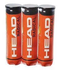Balles de Tennis Head Radical Balles Pro Lot de 3 Tubes de 4 Balles Haute Perf