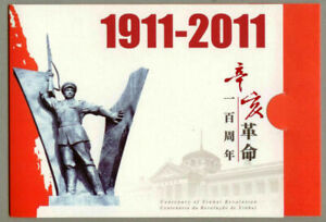 China Hong Kong 2011 BOOKLET Centenary of Xinhai Revolution stamps set