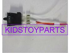 Fisher Price Power Wheels FOOT SWITCH & CONNECTOR FOR JEEP AND OTHERS