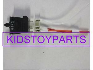 NEW! Fisher Price Power Wheels FOOT SWITCH & CONNECTOR FOR JEEP AND OTHERS