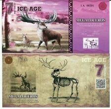 Ice Age 7 Ice Dollars 2015 Paper Neanderthal Unc
