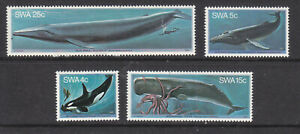 SWA 1980 Whales part set MNH