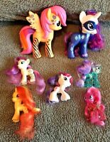 My Little Pony Collection x 7 ~ Poseable ~ Brushables ~ Special Edition ~ MLP
