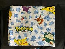 "Nintendo Pokemon Valance 84"" x 15""  Pikachu Snorlax Eevee"
