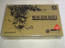 USED Metal Gear Solid 3: Subsistence (Sony PlayStation 2, 2006) Japanese Version