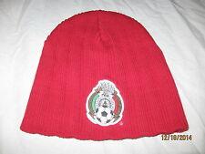 Federacion Mexicana de Futbol AC Beanie Stocking Cap Hat Adult Kids Soccer NWOT