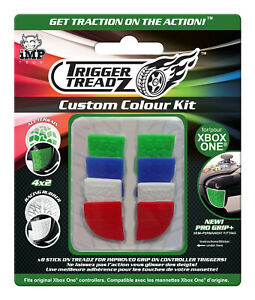 Xbox One Controller Trigger Treadz Grip Kit - Multi Colour 8-Pack