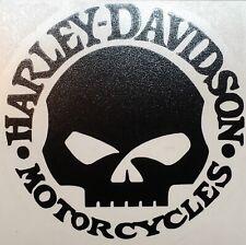 Harley Davidson Stickers Decal X1 (Gloss Black)