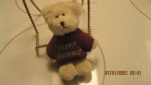 Boyd's Bear's Mini Message [happy birthday] bear