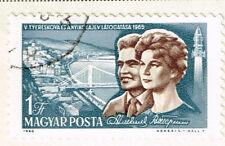 Briefmarken mit Raumfahrt Thema aus Ungarn