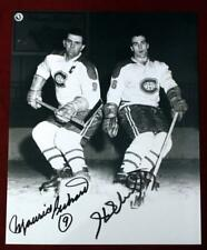 Maurice & Henri Richard  Signed Montreal Canadiens Photo COA & Signing Ticket!
