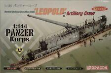 """Dragon Models 1/144 scale kit 14503, """"Leopold"""" Railway gun."""