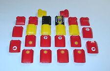 Lego Auto Zubehör Motorhaube 30603 30602 47457 Shell Sticker Schrägsteine Racer