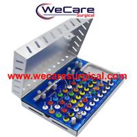 Dental Implant Bone Expander compression conical drill universal set kit 50 pc
