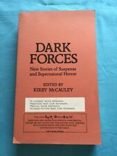 DARK FORCES - UNCORRECTED PROOF SIGNED BY RAY BRADBURY AND RICHARD MATHESON