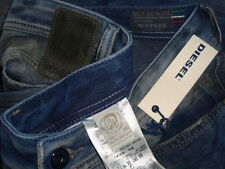 NWT$368 DIESEL WAYKEE Made in Italy Wash 0603Z Straight Leg Men's Jeans Sz 30x30