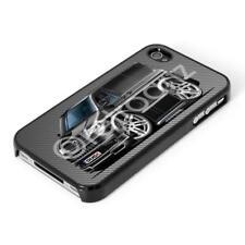 WickedArtz Car Volkswagen VW T5 Sportline Van Black iPhone 4/5/6/6+ Case/Cover