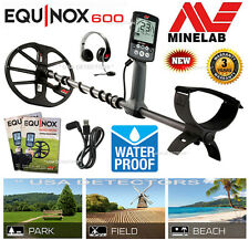 NEW Minelab EQUINOX 600 Multi-Frequency Waterproof Metal Detector