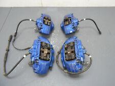 2015 14 15 16 17 18 19 BMW M4 F82 / F83 Blue Brembo Brake Caliper Set #9342