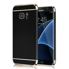 Black Ultra Slim Full Protective Cover Hard Case for New Samsung Galaxy S7 Edge