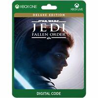 Star Wars Jedi Fallen Order Deluxe Xbox One Codice Download Gioco Digitale Key