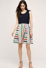 NEW Anthropologie French Quarter Skirt Multi Crochet Size 4