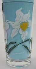 Narcissus Peanut Butter Glass Glasses Drinking Kitchen Mauzy 74-2