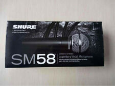 New Shure SM58S Vocal Dynamic Microphone Mic With On Off Switch