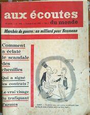 Aux écoutes du monde 1816 du 8/5/1959; Le vrai visage du trafiquant d'armes
