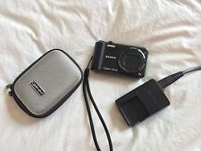 Sony Cyber-shot DSC-H70 16.1 MP Digital Camera - Black