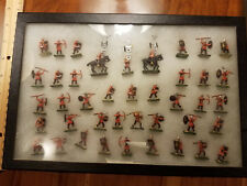 Painted Scruby 20mm/1 Inch Romans and Auxillia Mounted and Foot