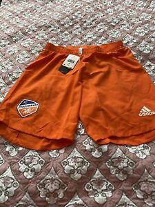 Adidas MLS FC Cincinnati Orange Shorts Men's Size Medium