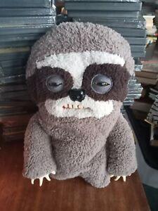 "13"" Fuggler Sickening Sloth Brown Soft Plush Toy"